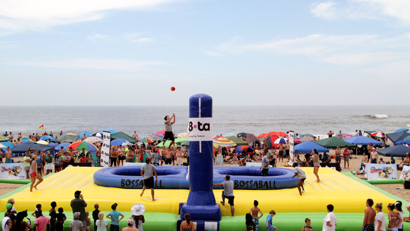8ta brand activation Volleyball Soccer Football Bossaball New sports South Africa Gymnastics