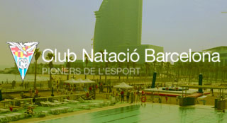 Club de Natación tourism event with new sport Bossaball