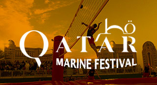 Qatar Marine sports fair with new sport Bossaball
