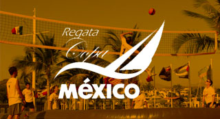 Regata Copa Mexico tourism event with Bossaball