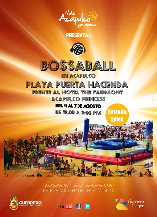 Mas Acapulco que nunca Mexico Volleyball Soccer Football Bossaball New sports Hybrid sports Gymnastics 40 principales