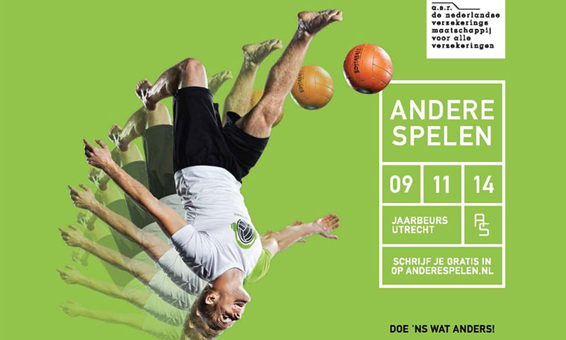 Sports festival New sports Bossaball Soccer Football Volleyball Netherlands Hybrid sports Gymnastics Utrecht