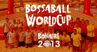 Bonaire World Cup 2013 tournament with new sport Bossaball