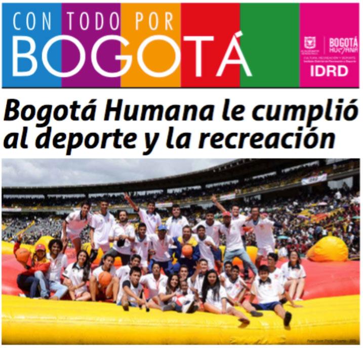 New school sport in Colombia