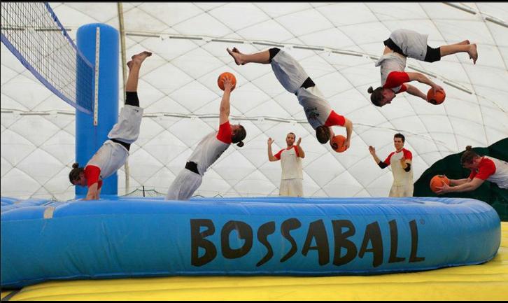 Foto loca bossaball