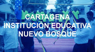 Cartagena educational project with new sport Bossaball