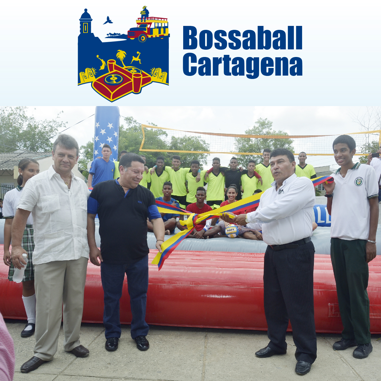 Bossaball Colombia Cartagena Educacion innovacion deportiva