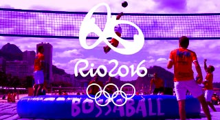 Bossaball shows up at the Olympics 2016 in Rio