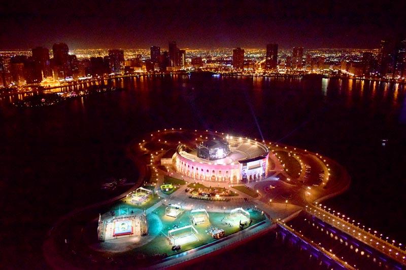 Bossaball-Sharjah-Al-Majaz-Ampitheatre-Fun-fest-5