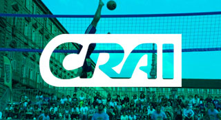 CRAI brand activation with Bossaball