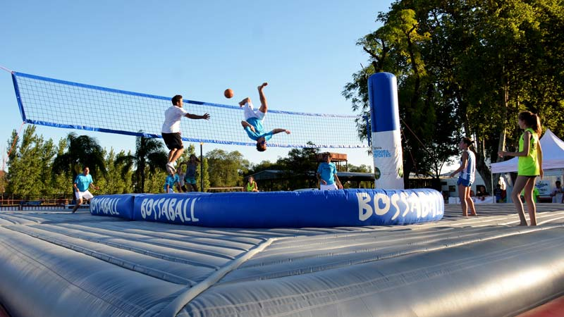 Cordoba Bossaball Argentina New sports