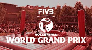FIVB World Grand Prix Stuttgart governmental project with new sport Bossaball