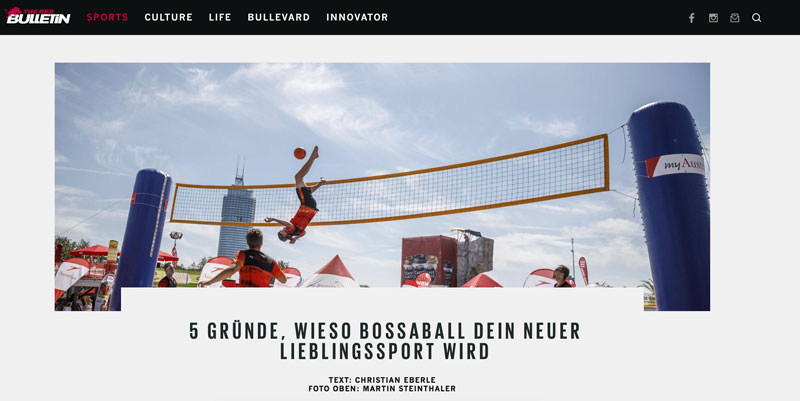 beachvolleyball bossaball
