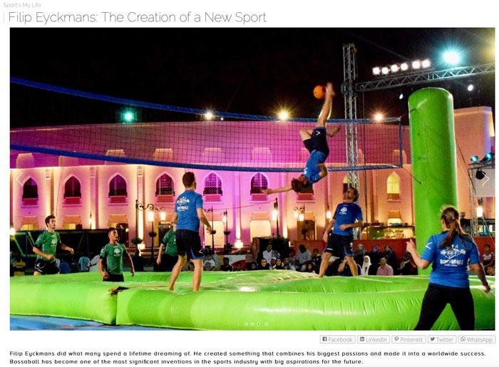 New sport Bossaball on Vivify Your Day