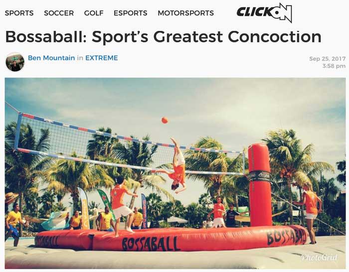 New sport Bossaball