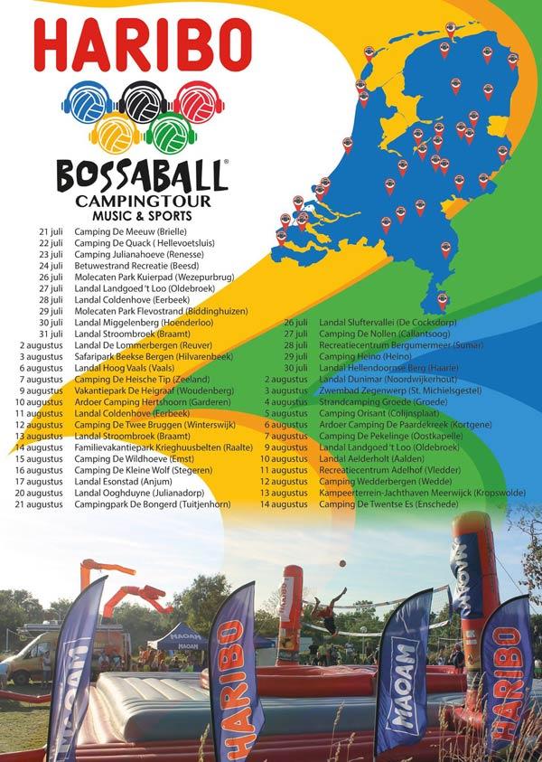 HARIBO Activity Volleyball Soccer Football Bossaball New sports Netherlands Gymnastics