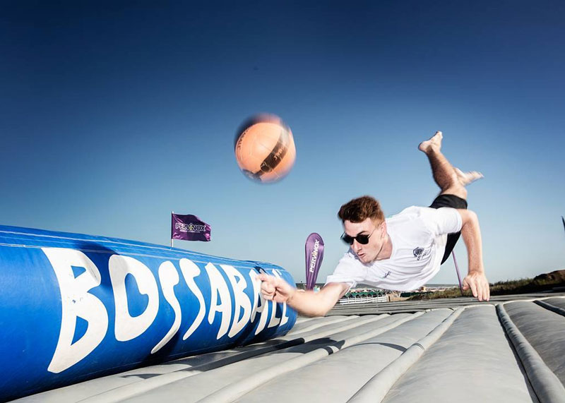 Activación de marca con TNT Sports y Bossaball en Argentina