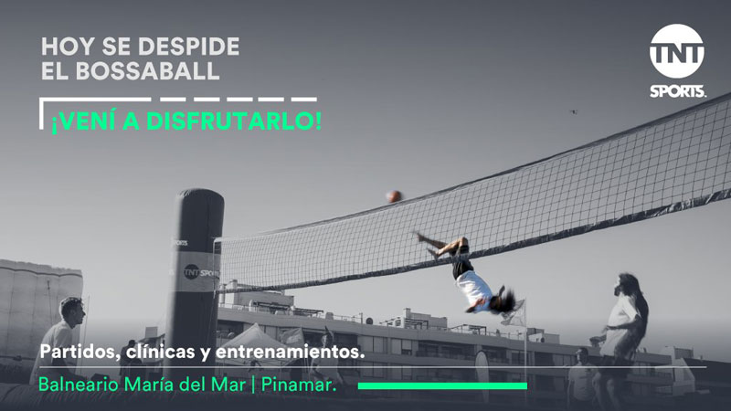 TNT Sports with new sport Bossaball