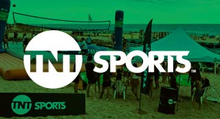 Bossaball TV channel brand activation with TNT Sports