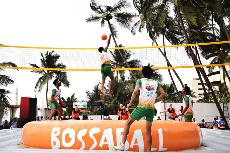 Bossaball India launch