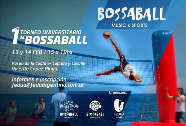 New sports discipline Bossaball