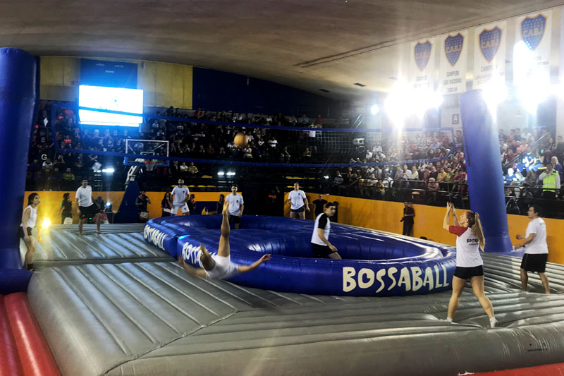 BA Cup Buenos Aires Bossaball Argentina