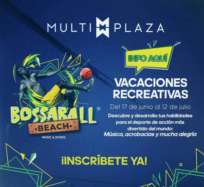 actividad deportiva centro comercial Multiplaza
