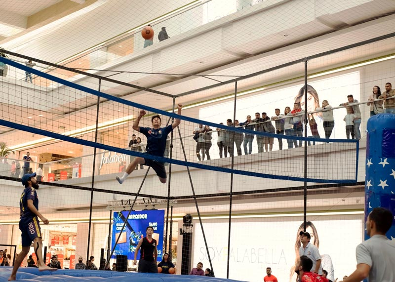 Multiplaza mall sports activity