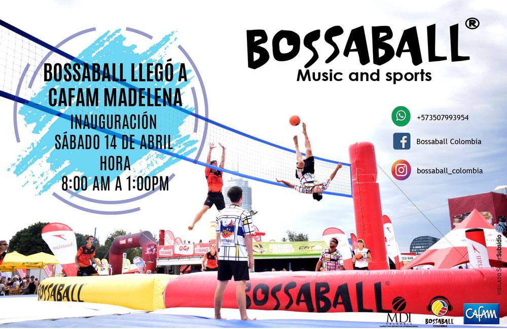 Cafam Melgar Nuevo deporte Bossaball Cajas de compensación fútbol voleibol voley playa deporte hibrido música fútbol gimnasia Capoeira