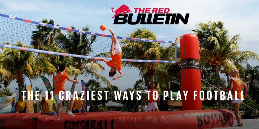 Red Bull Media House once again features Bossaball