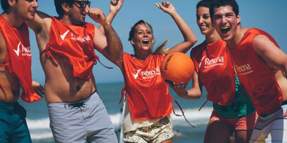 Bossaball as an innovative sports team building activity