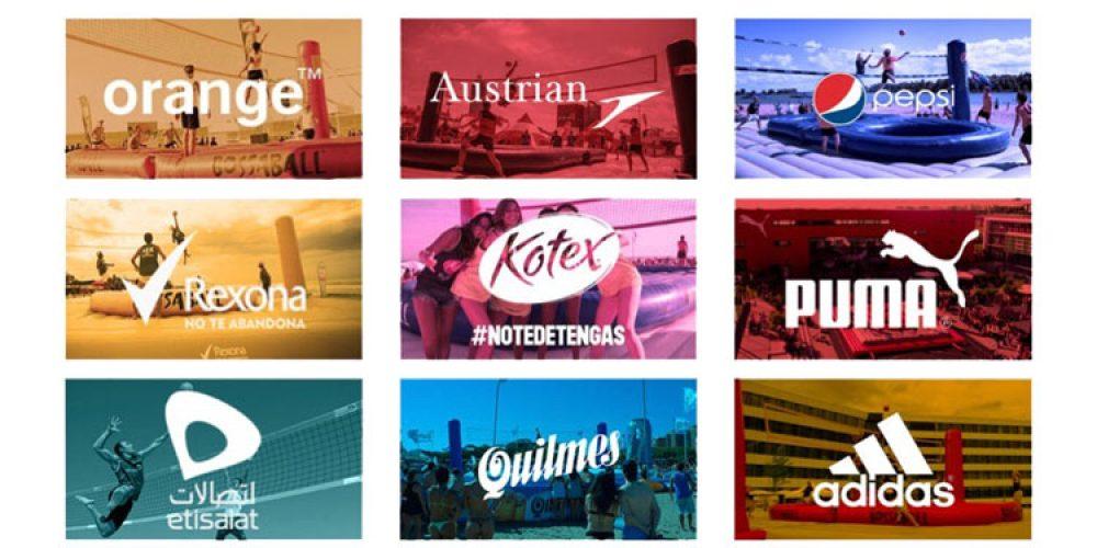 Quatro exemplos de ativação de marca que mostram porque Bossaball é a melhor ferramenta