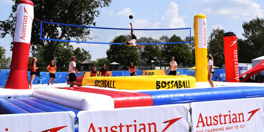 5 reasons why Bossaball is the ideal sports side event
