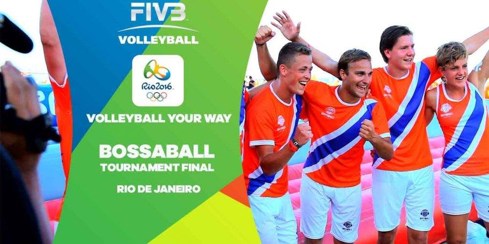 National volleyball federations work side by side with Bossaball