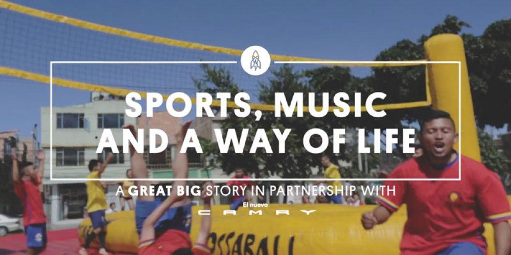 CNN presents new thrilling sport Bossaball
