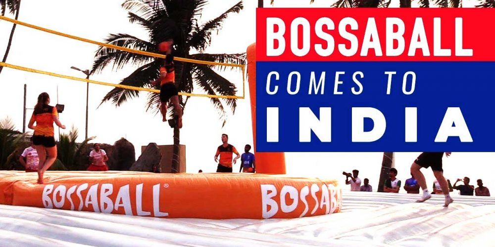 Bossaball sets foot in India